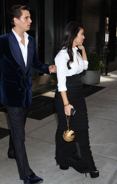 Kourtney Kardashian Reality stars Kourtney Kardashian and Scott Disick are spotted out and about in New York City.