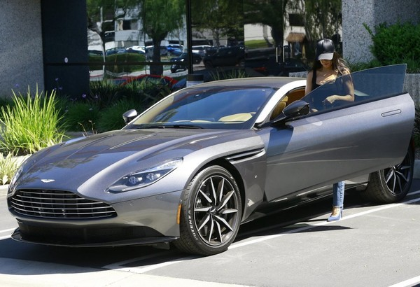Kourtney Kardashian Has a Sweet DB11