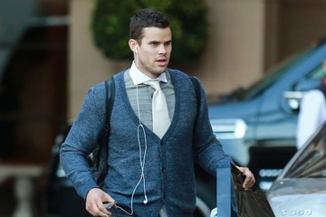 Kris Humphries Washington Wizards Leave the Montage Hotel