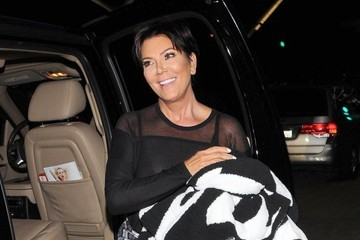 Kris Jenner Kardashian Family Arrives at LAX