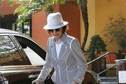 Kris Jenner & Family Leaving Church On Easter