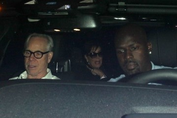 Kris Jenner Celebs Dine Out at The Nice Guy