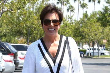 Kris Jenner Kris Jenner Lunches in Calabasas