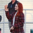 Kristen Stewart Rocks a Head Full of Red