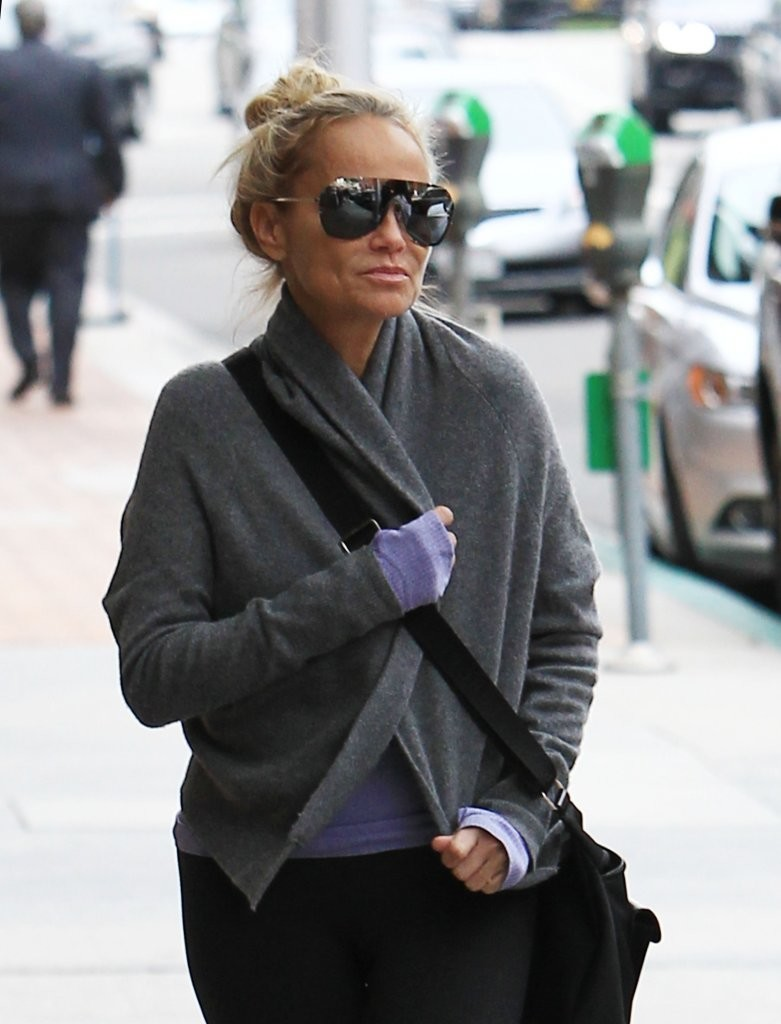 Kristin Chenoweth Gets Her Nails Done In Beverly Hills - Zimbio