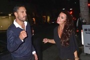 Kyle Richards and Her Husband Get Dinner
