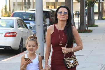 Kyle Richards Portia Umansky Kyle Richards Goes out in Beverly Hills with Her Daughter