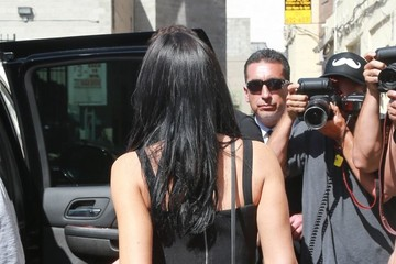 Kylie Jenner Kylie and Kendall Jenner Are Spotted in Downtown Los Angeles