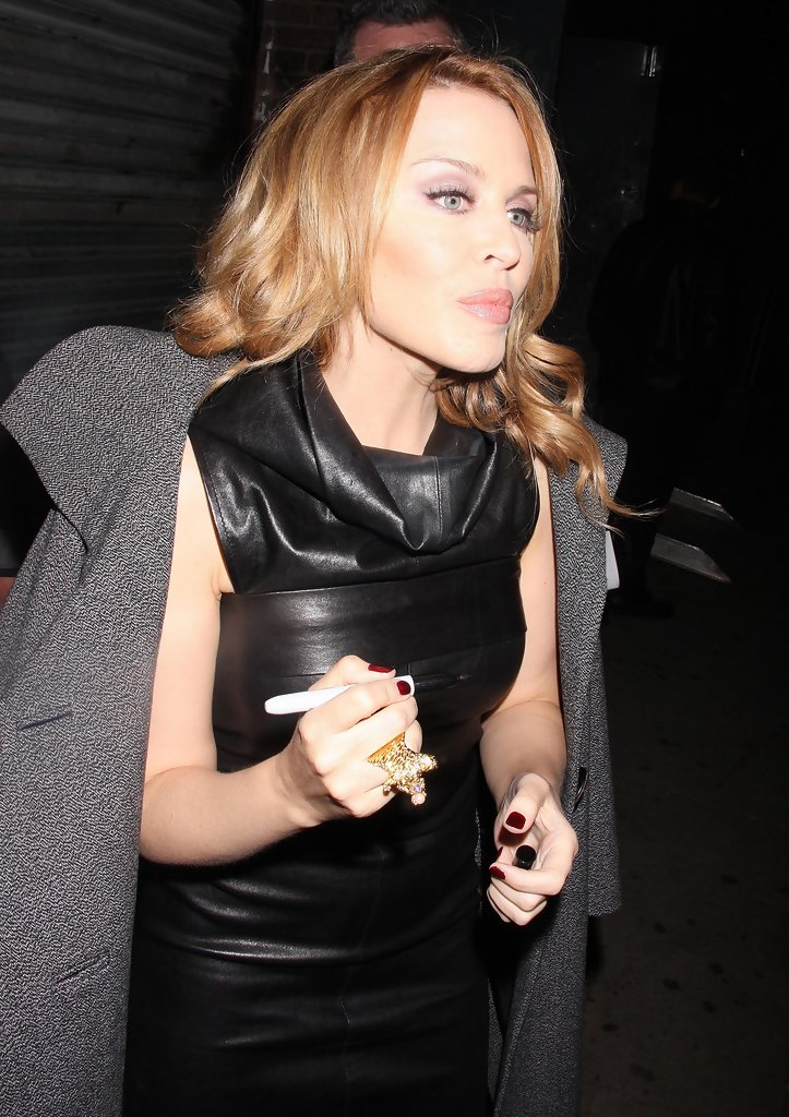 Kylie Minogue Out And About In New York City