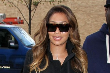 La La Anthony La La Anthony Visits Kim Kardashian in NYC