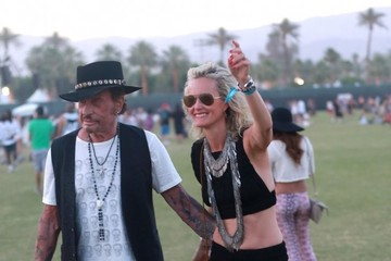 Laeticia Hallyday Coachella Music Festival Weekend 2 - Day 1