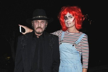Laeticia Hallyday Celebrities Attend Kate Hudson's Annual Halloween Party