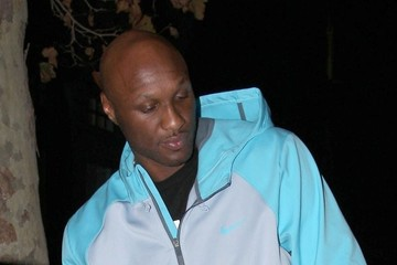 Lamar Odom Lamar Odom Leaving Tavern In Brentwood