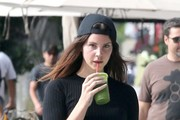 Lana Del Rey Goes Shopping in Hollywood