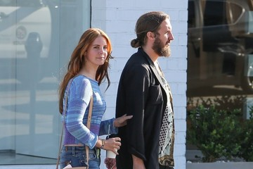 Lana Del Rey Lana Del Rey Shops in Beverly Hills With a Friend