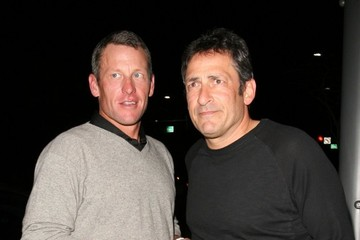 Lance Armstrong Lance Armstrong Gets Dinner in Beverly Hills