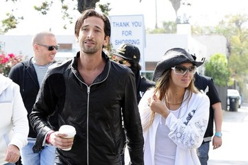 Lara Leito Adrien Brody Out With His Girlfriend