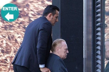 Larry Flynt Larry Flynt Spotted Out for Lunch