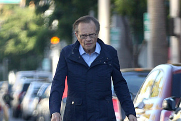 Larry King Larry King Out And About In Beverly Hills