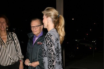 Larry King Celebs Spotted at Craig's Restaurant