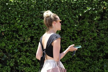 Lauren Conrad Lauren Conrad Lunches at Lemonade