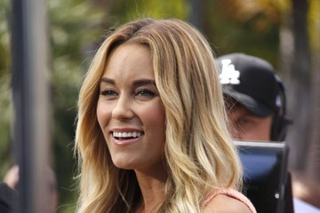 Lauren Conrad Celebs Stop by the 'Extra' Set