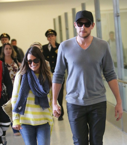 Saturday: Cory Monteith and Lea Michele
