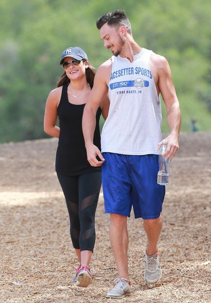 Lea Michele & Matthew Paetz Take A Hike