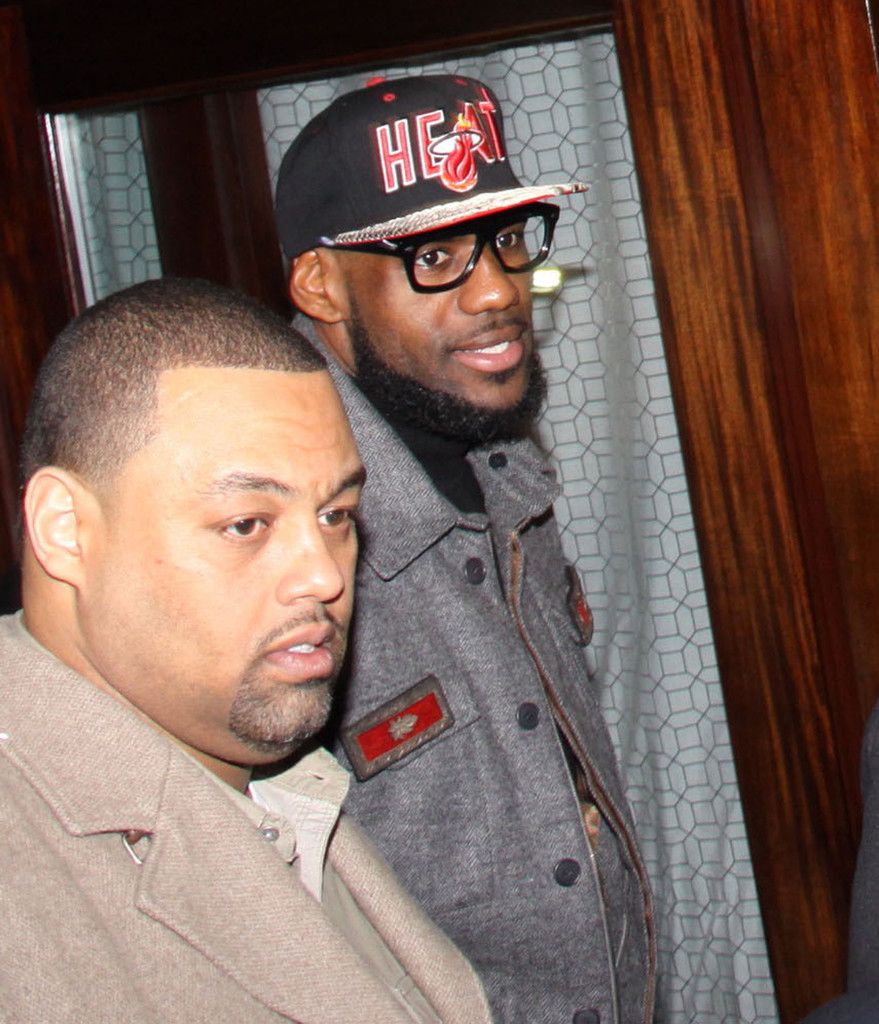 LeBron James Photos Photos - Lebron James On A Night Out In ... 12ce8f192a19