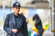 Leelee Sobieski & Daughter Spotted Out In New York City