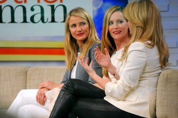 Leslie Mann Kate Upton 'The Other Woman' Stars Visit 'GMA'