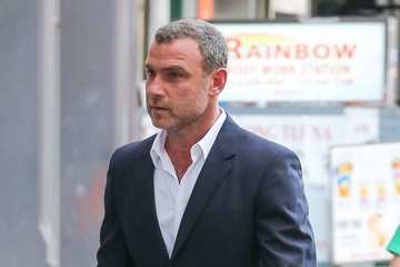 Liev Schreiber Liev Schreiber Out And About In NYC