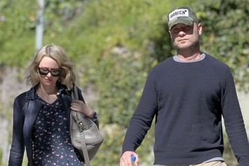 Liev Schreiber Naomi & Liev At A Meeting In Beverly Hills