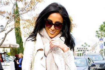 Lilly Ghalichi Joanna Krupa and Lilly Ghalichi Grab Lunch