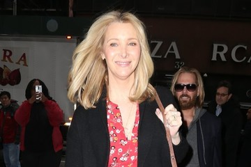Lisa Kudrow Celebrities At 'The Today Show' In NYC