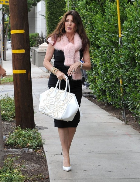 Lisa Vanderpump Lunches At Cecconi's