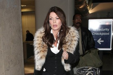 Lisa Vanderpump Lisa Vanderpump Arrives in LA