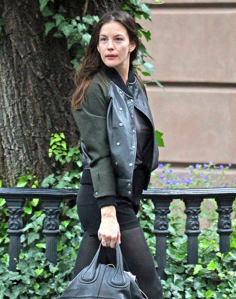 Liv Tyler Actress Liv Tyler leaves her West Village apartment in New York City, NY.