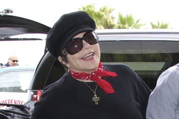 Liza Minnelli Liza Minnelli Catches a Flight at LAX Airport