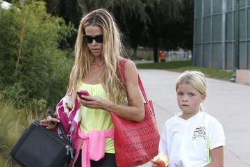 Lola Sheen Denise Richards Out with Lola