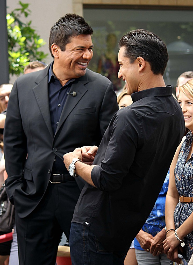 mario lopez and george relationship