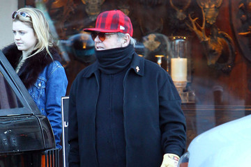 Lorraine Nicholson Jack Nicholson And Daughter Lorraine Out Christmas Shopping in Aspen