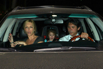 Yvonne Boismier Lou Diamond Phillips Takes His Family Out To Mr Chow