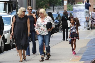 Lou Samuel Heidi Klum Out In NYC With Her Children