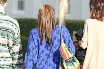 Lourdes Leon Lourdes Leon Grabs Lunch in Beverly Hills