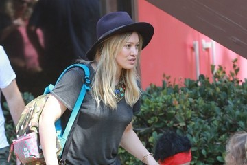 Luca Comrie Hilary Duff & Family Going To A Halloween Party