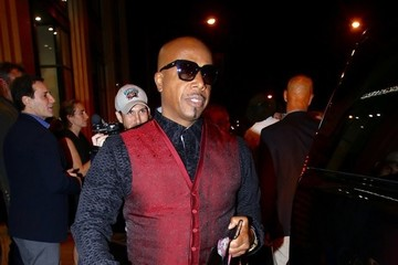 MC Hammer Celebrities Go Out at Catch Restaurant