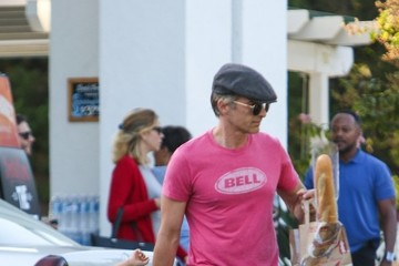 Maceo Martinez Olivier Martinez and Maceo Martinez Shop at Bristol Farms in LA