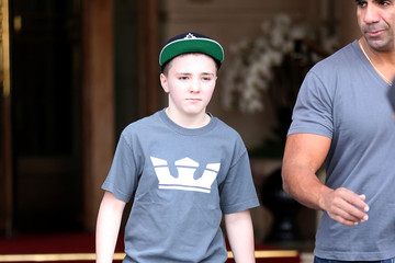 Rocco Ritchie Madonna And Family Leaving The Hotel Ritz