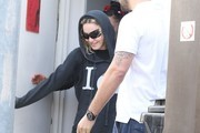 Madonna Leaving A Dance Studio